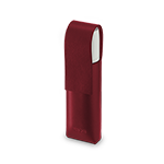 IQOS 3 MULTI Lederhülle, Deep Red, medium